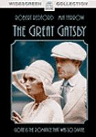 Cover image for The great Gatsby (Robert Redford version)