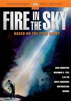 Cover image for Fire in the sky