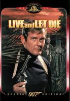 Cover image for Live and let die