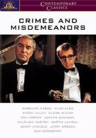 Cover image for Crimes and misdemeanors