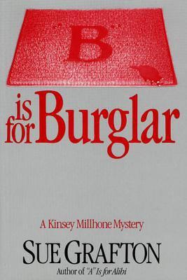 "Cover image for ""B"" is for burglar : Kinsey Millhone series"