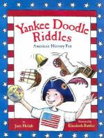 Cover image for Yankee Doodle riddles : American history fun