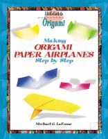 Cover image for Making origami paper airplanes step by step
