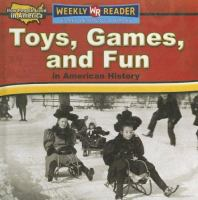 Cover image for Toys, games, and fun in American history