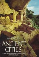 Cover image for America's ancient cities