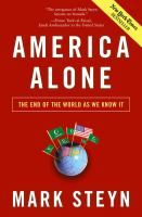 Cover image for America alone : the end of the world as we know it