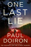Cover image for One last lie. bk. 11 : Mike Bowditch mysteries series