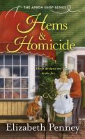 Cover image for Hems and homicide. bk. 1 : Apron shop series