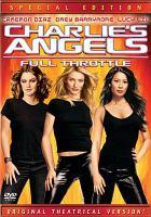 Cover image for Charlie's angels, full throttle