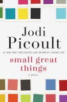 Cover image for Small great things [large print]
