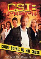 Cover image for CSI: Miami. Season 2, Complete