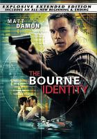 Cover image for The Bourne identity (Matt Damon version)