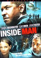 Cover image for Inside man