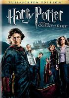 Cover image for Harry Potter and the goblet of fire. bk. 4