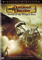Cover image for Dungeons & dragons. Wrath of the dragon god