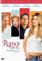 Cover image for Rumor has it--