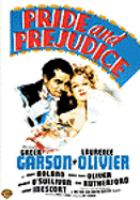 Cover image for Pride and prejudice (Greer Garson version)