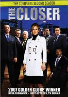 Imagen de portada para The closer. Season 2. Disc 1