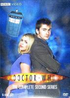 Cover image for Doctor Who. Season 2, Complete [videorecording DVD] (David Tennant version)