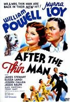 Imagen de portada para After the thin man