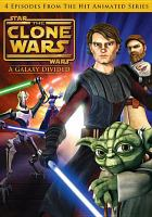 Cover image for Star Wars, the Clone wars. A galaxy divided
