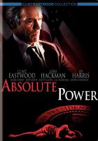 Cover image for Absolute power [videorecording DVD]