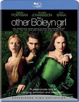 Cover image for The other Boleyn girl [videorecording Blu-ray] (Natalie Portman version)