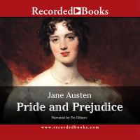 Cover image for Pride and prejudice (Read by Flo Gibson)