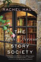 Cover image for The Fifth Avenue story society [large print]