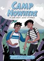 Cover image for Hair today, gone tomorrow. bk. 1 : Camp nowhere series