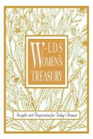 Imagen de portada para LDS women's treasury : insights and inspiration for today's woman.