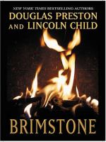 Cover image for Brimstone. bk. 5 [large print] : Pendergast series
