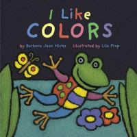 Cover image for I like colors