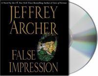 Cover image for False impression