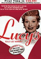 Cover image for Lucy's really lost moments