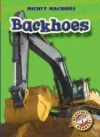 Cover image for Backhoes