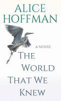 Imagen de portada para The world that we knew [large print] : a novel