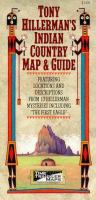 Cover image for Tony Hillerman's Indian country map & guide