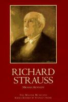 Cover image for Richard Strauss : The master musicians