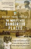 Cover image for Robert Young Pelton's the world's most dangerous places