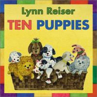 Cover image for Ten puppies