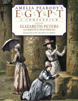 Cover image for Amelia Peabody's Egypt : a compendium
