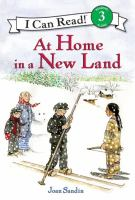Cover image for At home in a new land