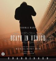 Cover image for Death in Venice