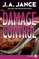 Cover image for Damage control. bk. 13 [large print] : Joanna Brady series