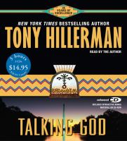 Cover image for Talking god. bk. 9 Joe Leaphorn/Jim Chee series