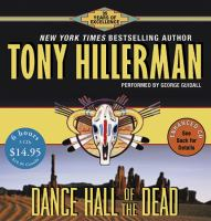 Cover image for Dance hall of the dead. bk. 2 Joe Leaphorn/Jim Chee series
