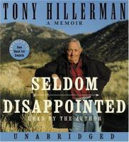 Cover image for Seldom disappointed a memoir
