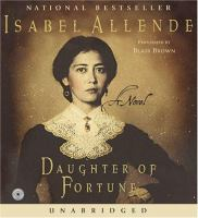 Cover image for Daughter of fortune [sound recording CD]
