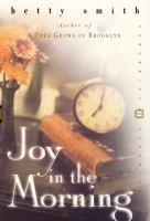 Cover image for Joy in the morning